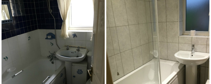 Handyman – Bathroom installation